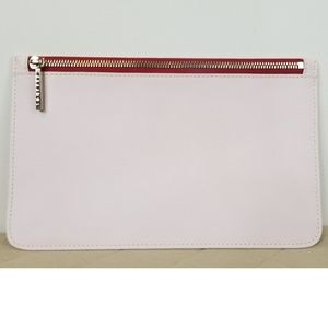 Truffle clutch only Privacy pouch pink leather